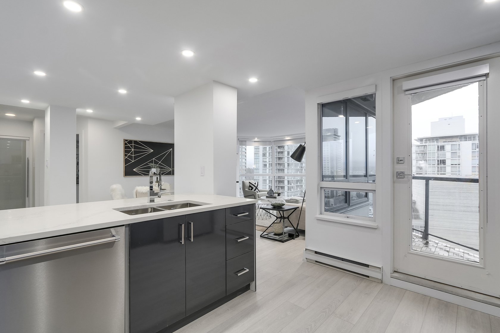 11 at 1003 - 1415 W Georgia Street, Coal Harbour, Vancouver West