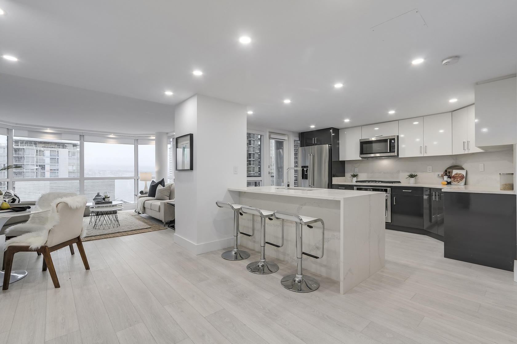 9 at 1003 - 1415 W Georgia Street, Coal Harbour, Vancouver West