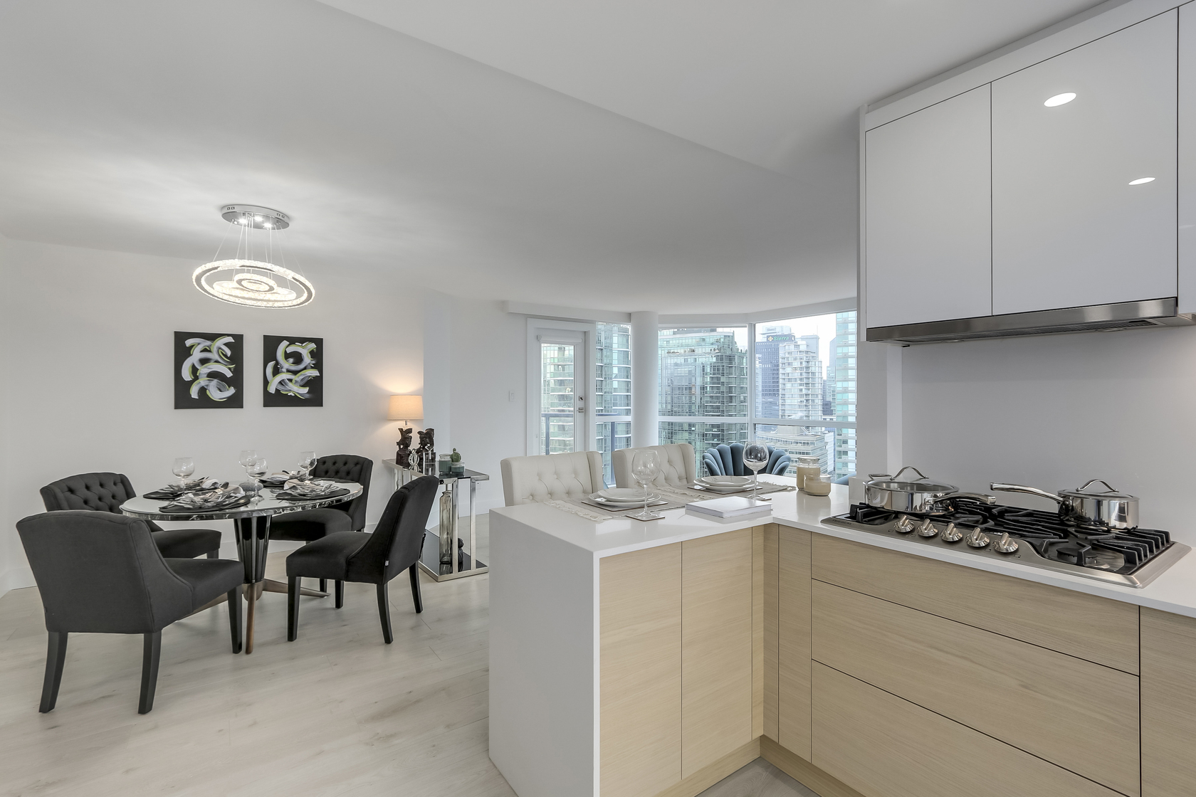15 at 1704 - 1415 W Georgia Street, Coal Harbour, Vancouver West
