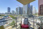 606-33smithebalconyview at 606 - 33 Smithe Street, Yaletown, Vancouver West