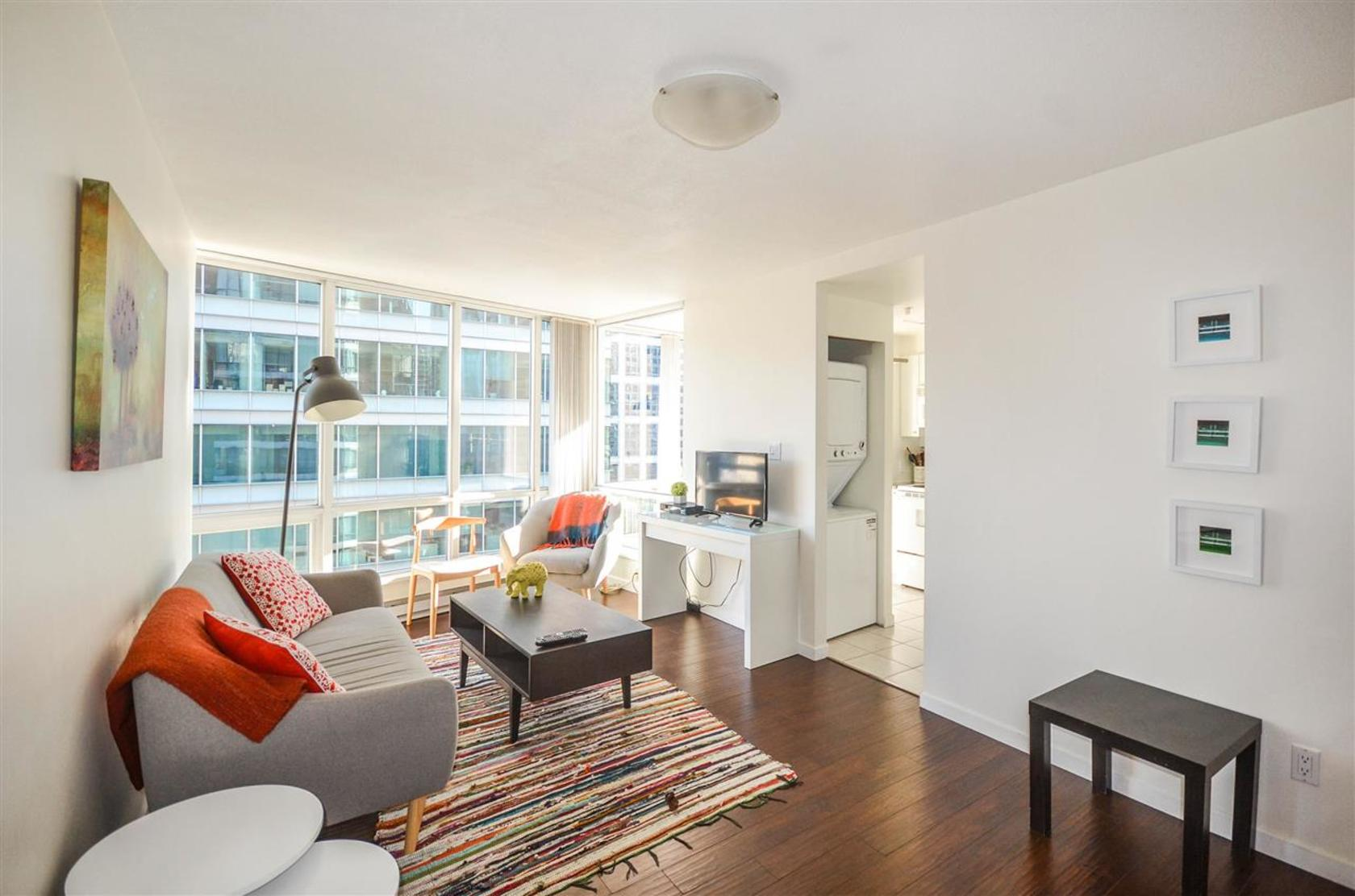 ocranewlroom at 1508 - 1166 Melville Street, Coal Harbour, Vancouver West