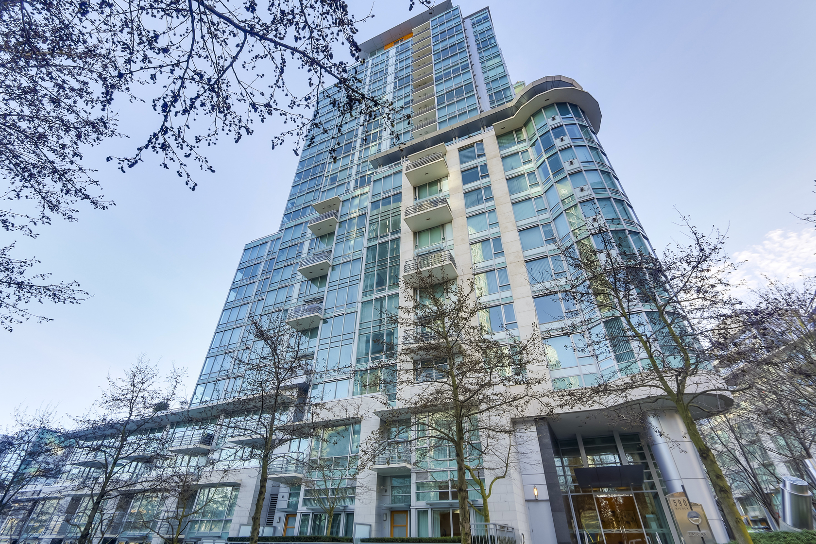 1 at 1403 - 590 Nicola Street, Coal Harbour Waterfront (Coal Harbour), Vancouver West