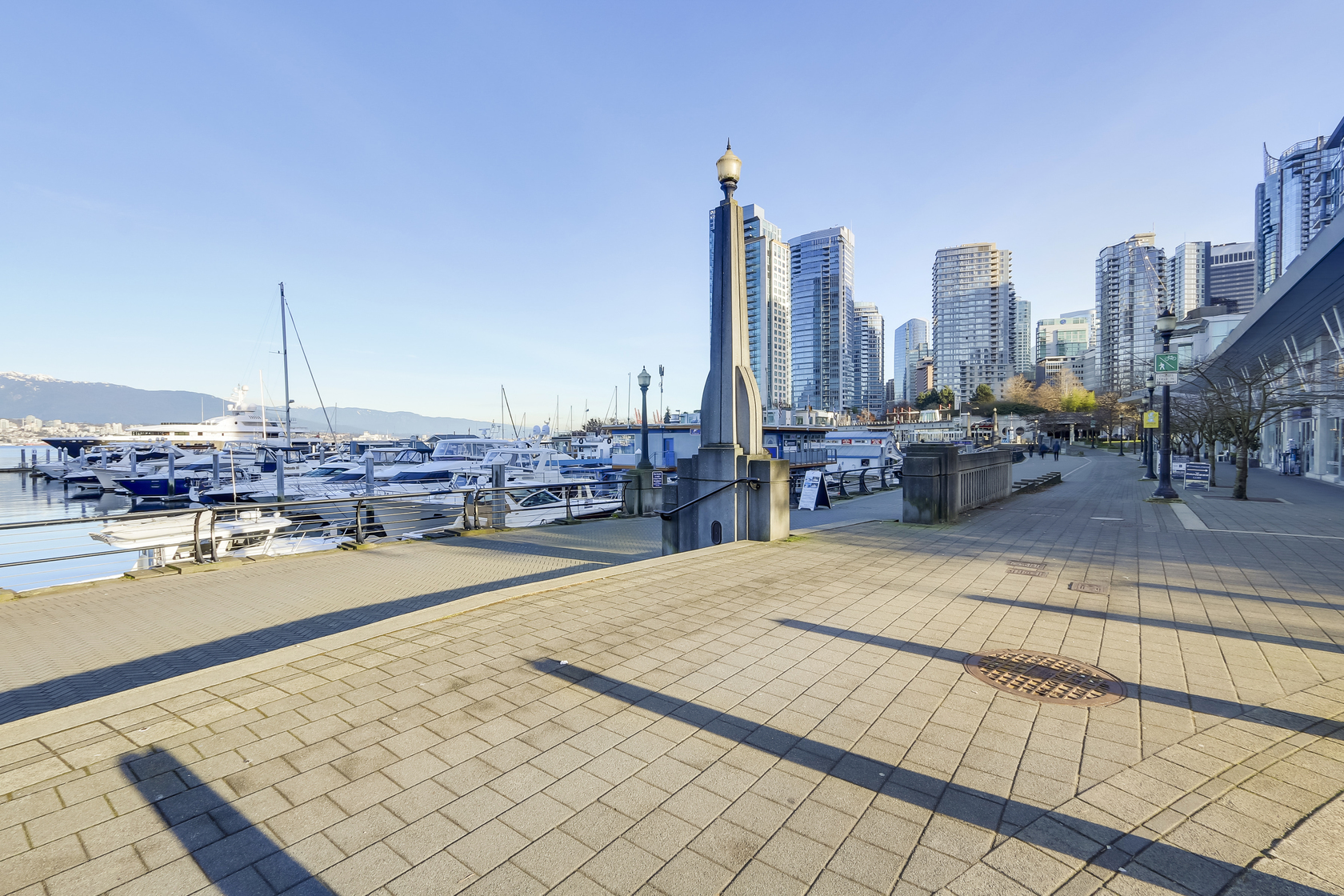 2 at 1403 - 590 Nicola Street, Coal Harbour Waterfront (Coal Harbour), Vancouver West