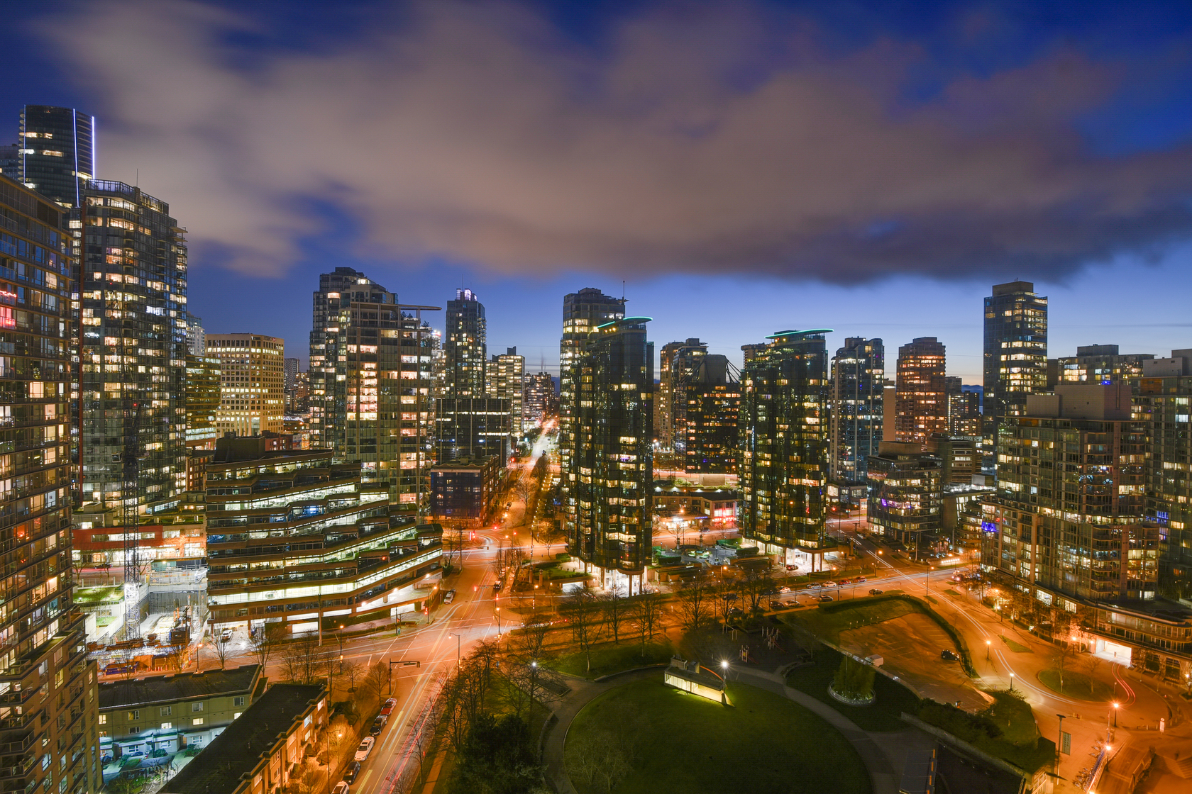 23 at 2102 - 323 Jervis Street, Coal Harbour, Vancouver West
