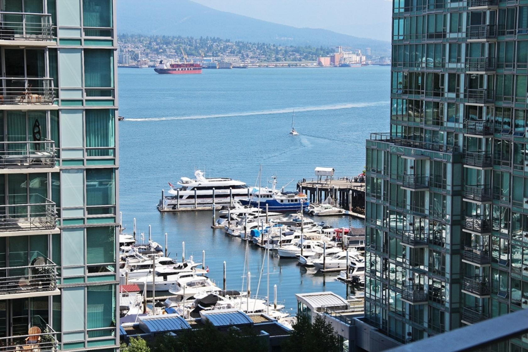 1202 - 1499 W Pender Street, Coal Harbour, Vancouver West
