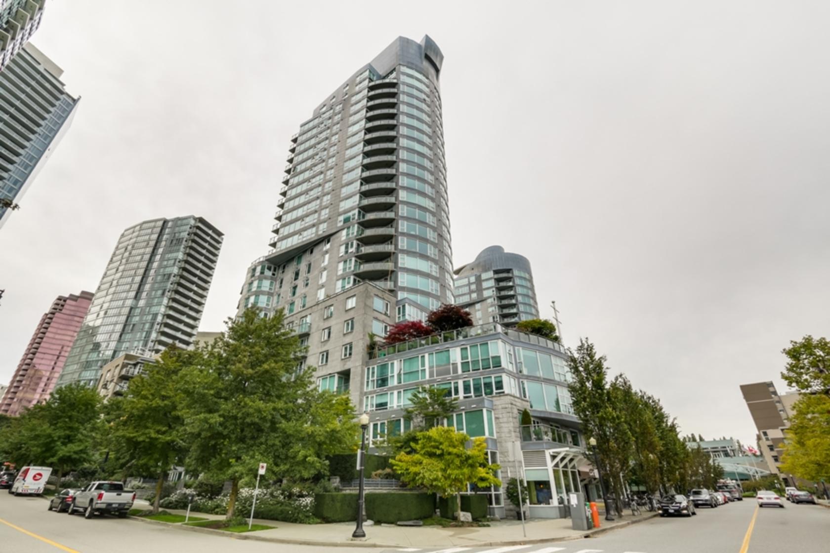 1402 - 535 Nicola Street, Coal Harbour, Vancouver West