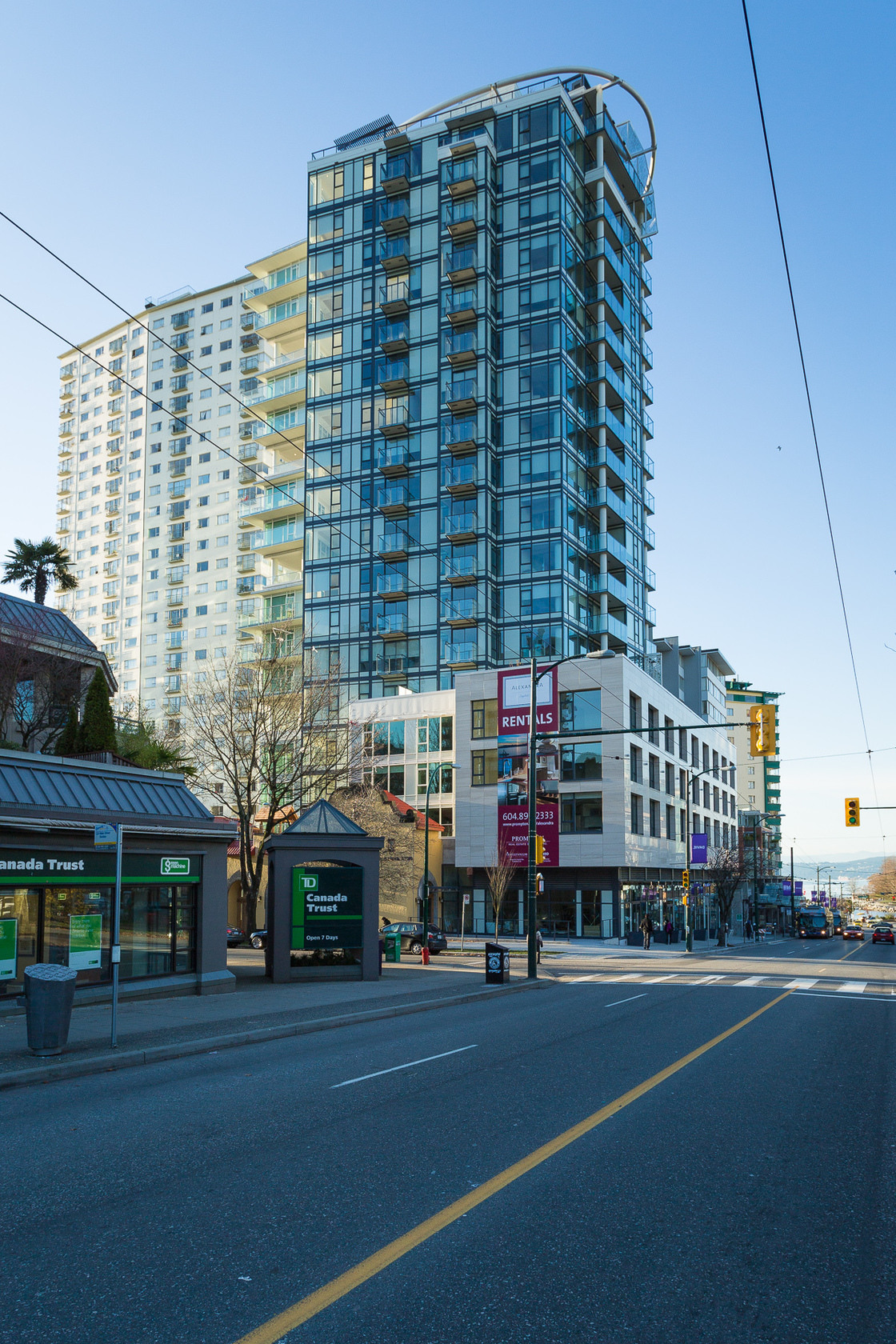806 - 1221 Bidwell Street, West End VW, Vancouver West