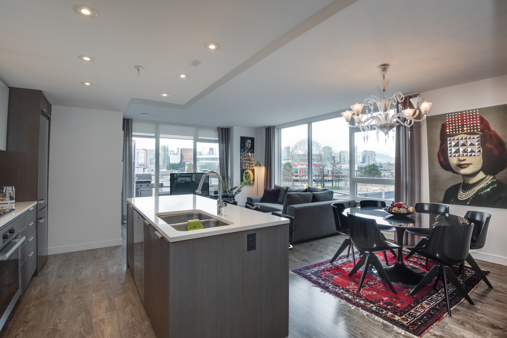 4 at 505 - 110 Switchmen Street, Olympic Village (Mount Pleasant VE), Vancouver West