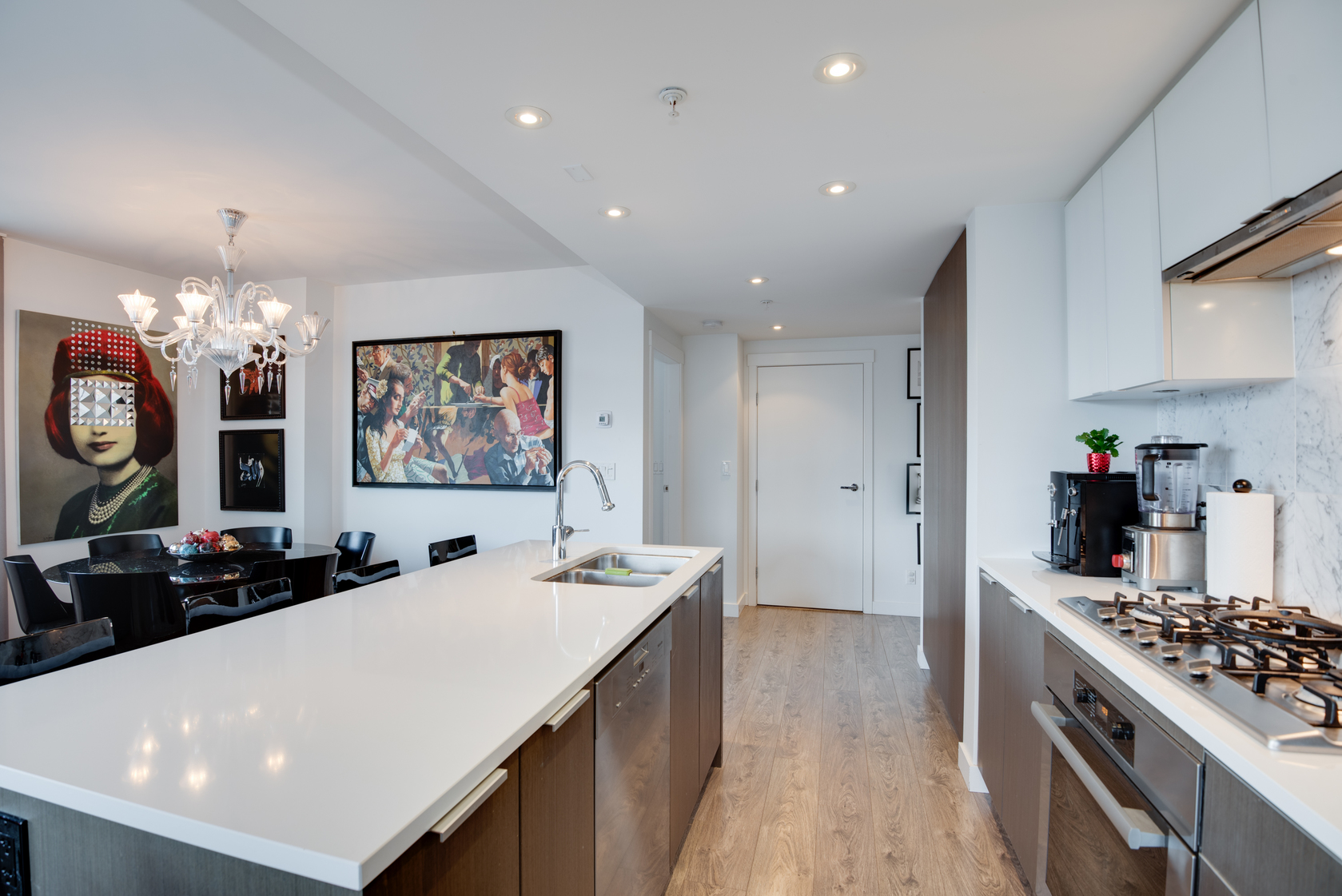 5 at 505 - 110 Switchmen Street, Olympic Village (Mount Pleasant VE), Vancouver West