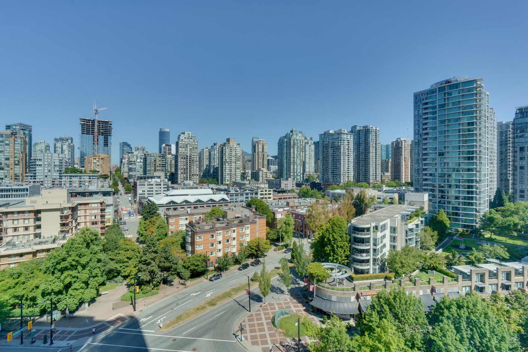 1-17 at 16th floor - 193 Aquarius Mews, Yaletown, Vancouver West