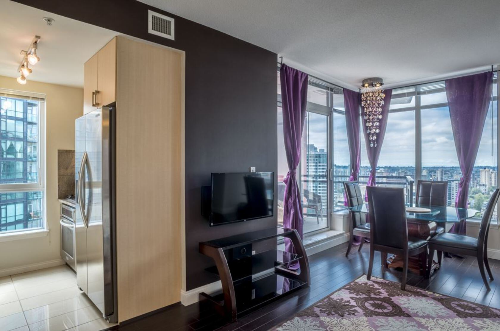 262128478-7 at 34th floor - 1211 Melville , Coal Harbour, Vancouver West