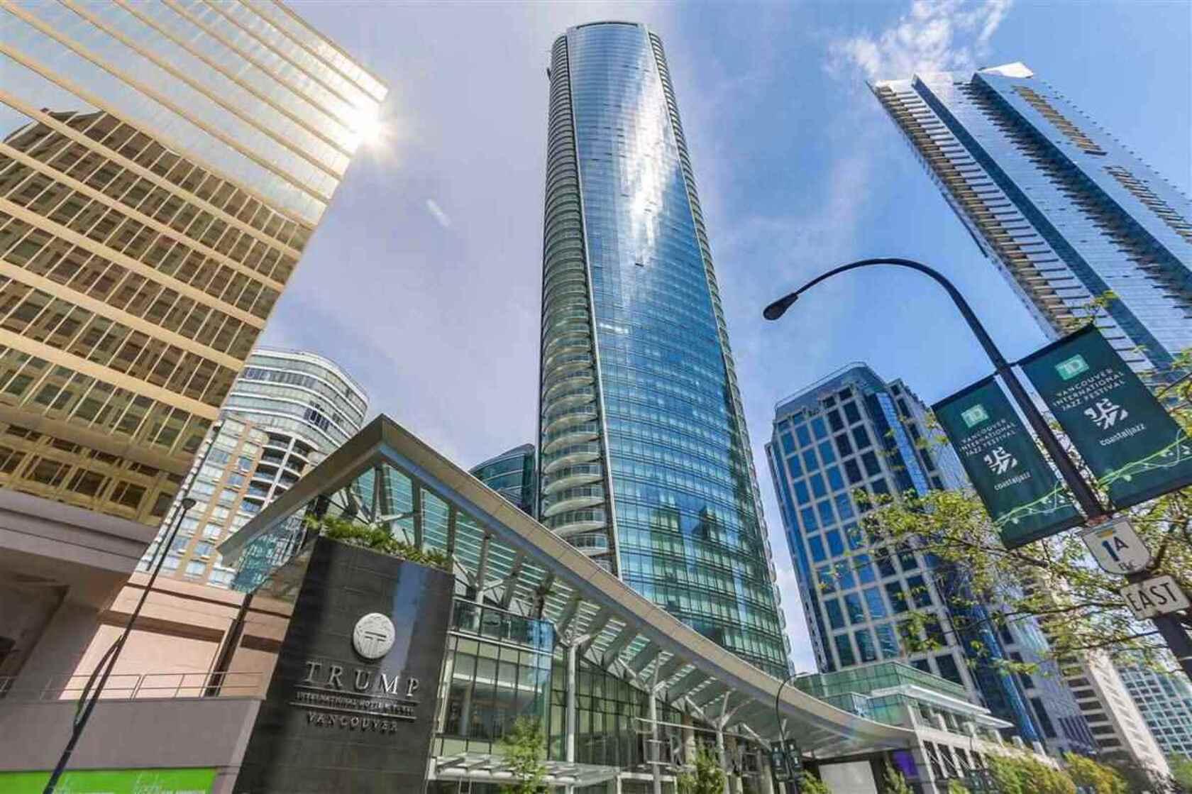 trump-1 at 33rd floor - 1151 West Georgia , Coal Harbour, Vancouver West