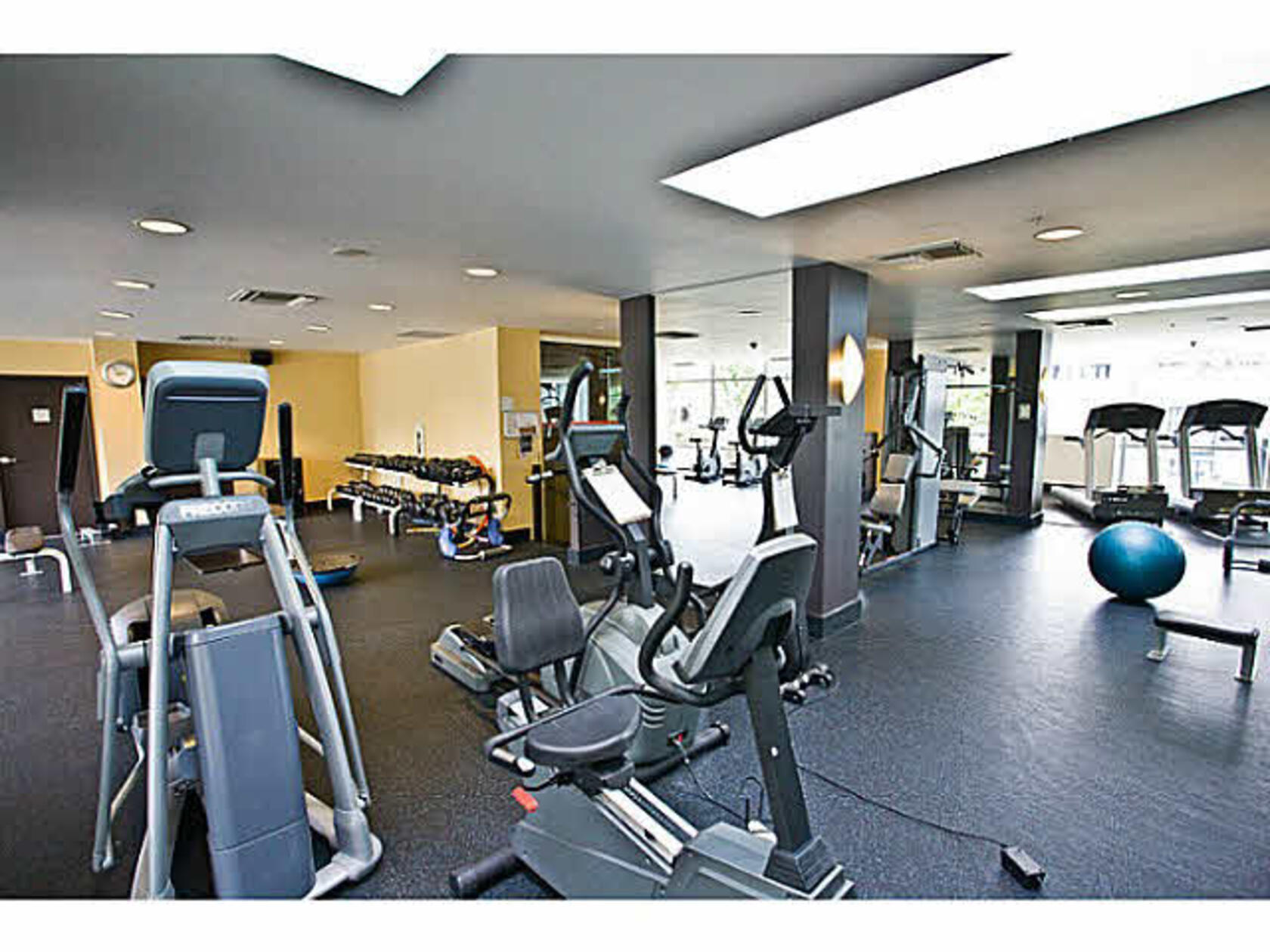 gym at 2001 - 1495 Richards, Yaletown, Vancouver West