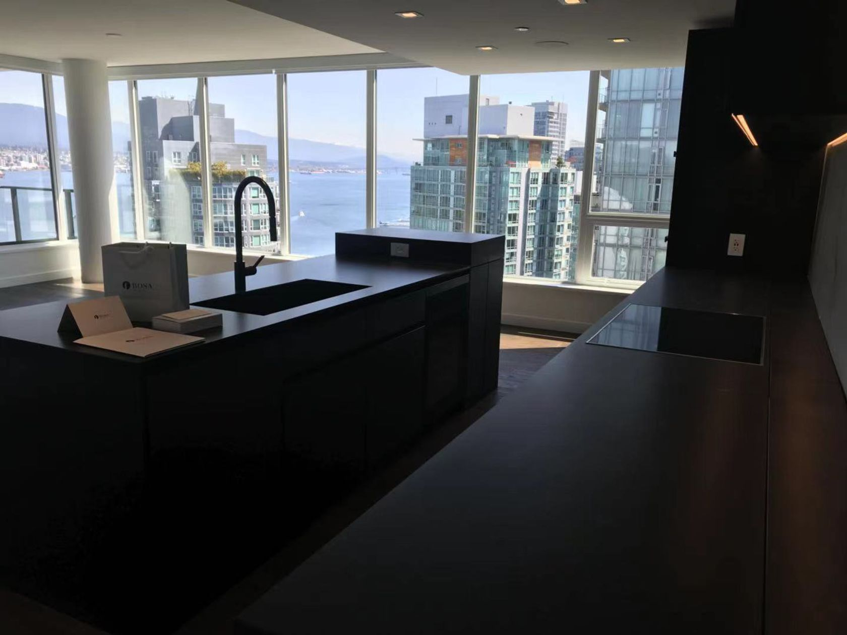 2102-3 at 21st floor - 620 Cardero, Coal Harbour, Vancouver West