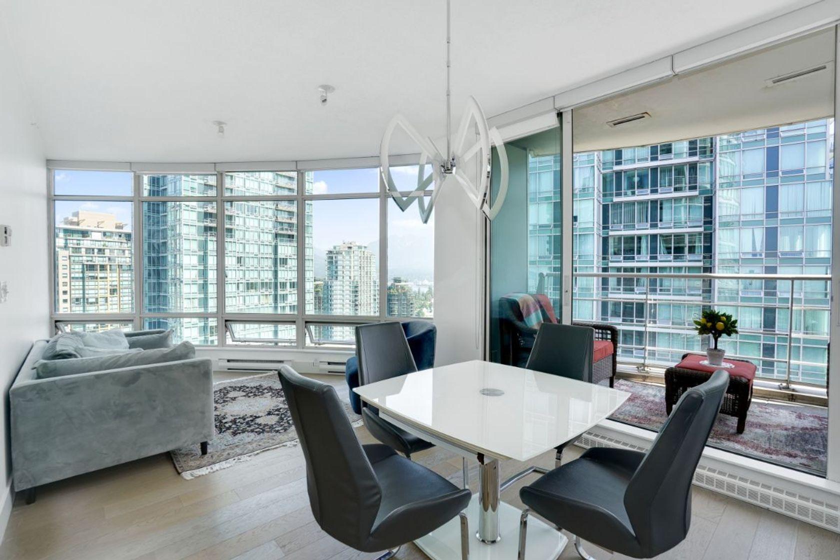 23rd floor - 1200 Alberni, Coal Harbour, Vancouver West