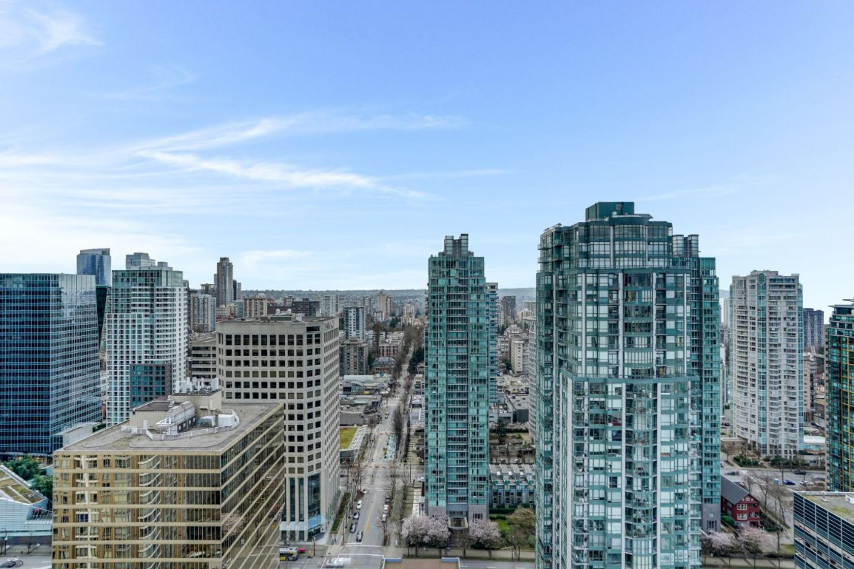 10 at 34th Floor - 1211 Melville, Coal Harbour, Vancouver West