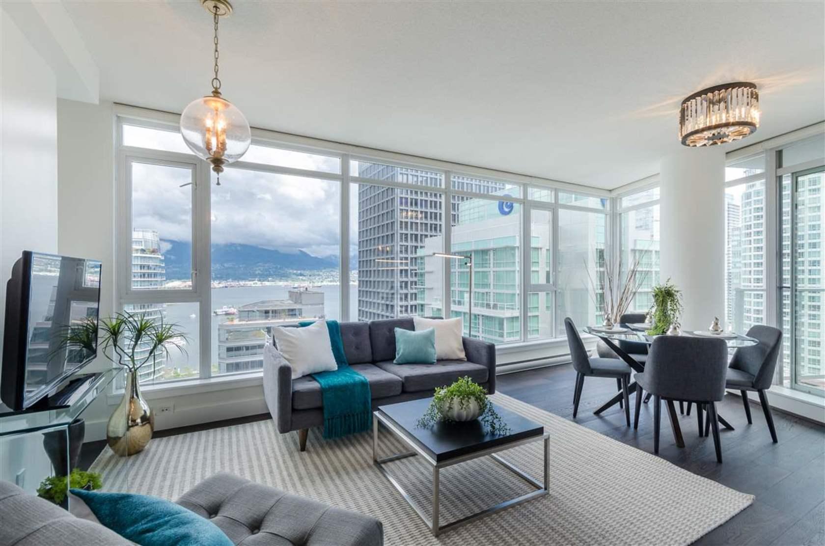 2104 - 1188 W Pender Street, Coal Harbour, Vancouver West
