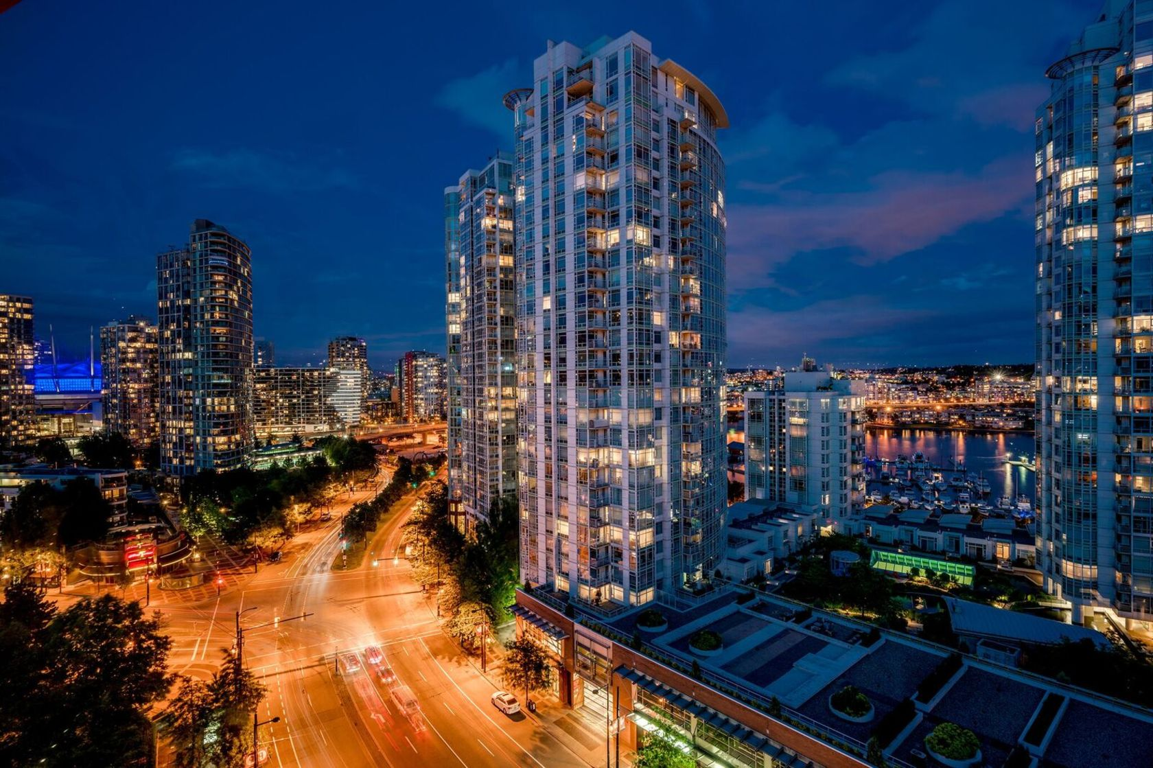 1501 - 1177 Pacific at 1501 - 1177 Pacific Boulevard, Yaletown, Vancouver West
