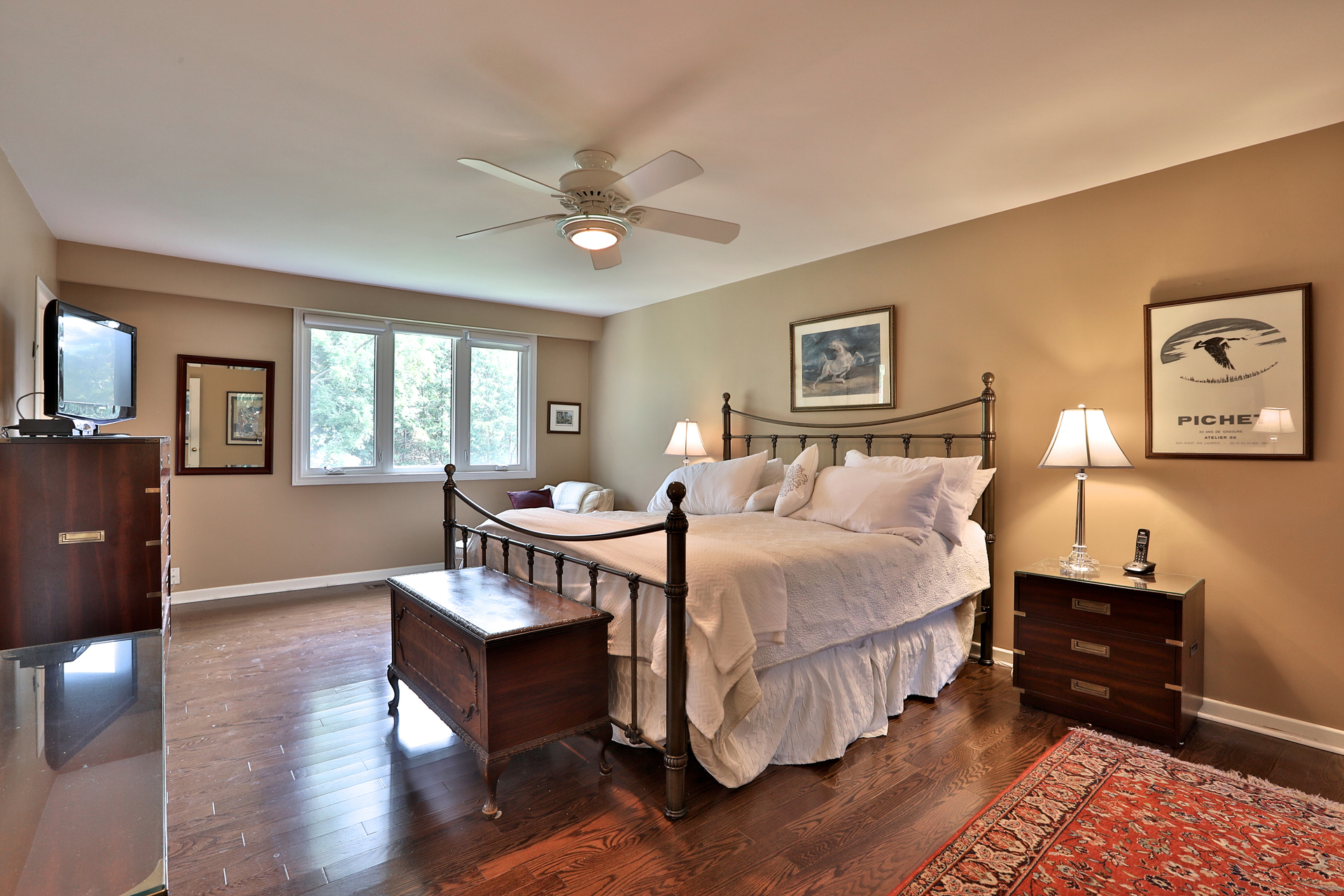 Master Bedroom at 5 Carnwath Crescent, St. Andrew-Windfields, Toronto