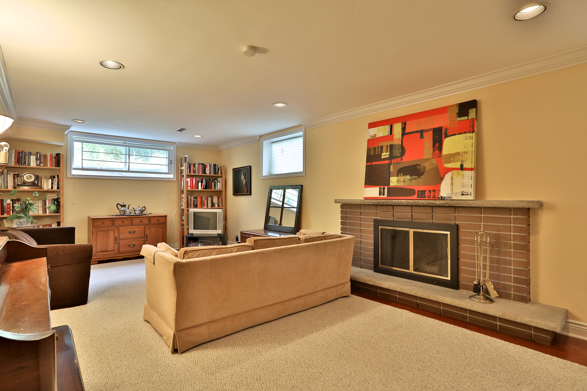 Recreation Room at 5 Carnwath Crescent, St. Andrew-Windfields, Toronto