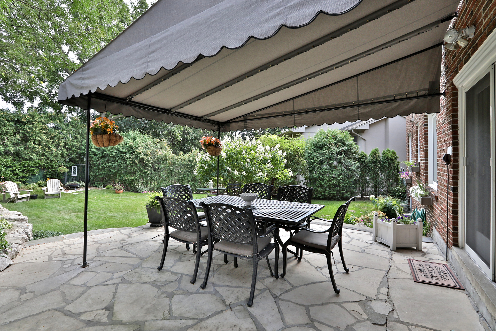 Backyard at 5 Carnwath Crescent, St. Andrew-Windfields, Toronto