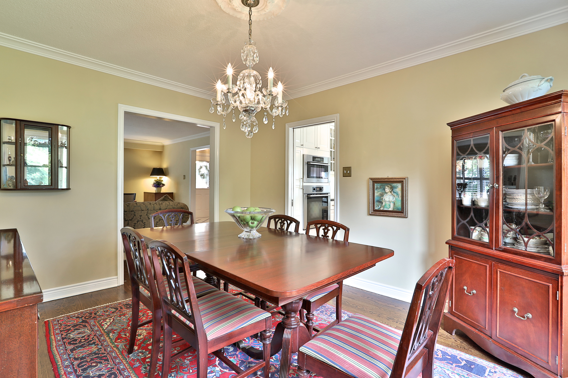 Dining Room at 5 Carnwath Crescent, St. Andrew-Windfields, Toronto