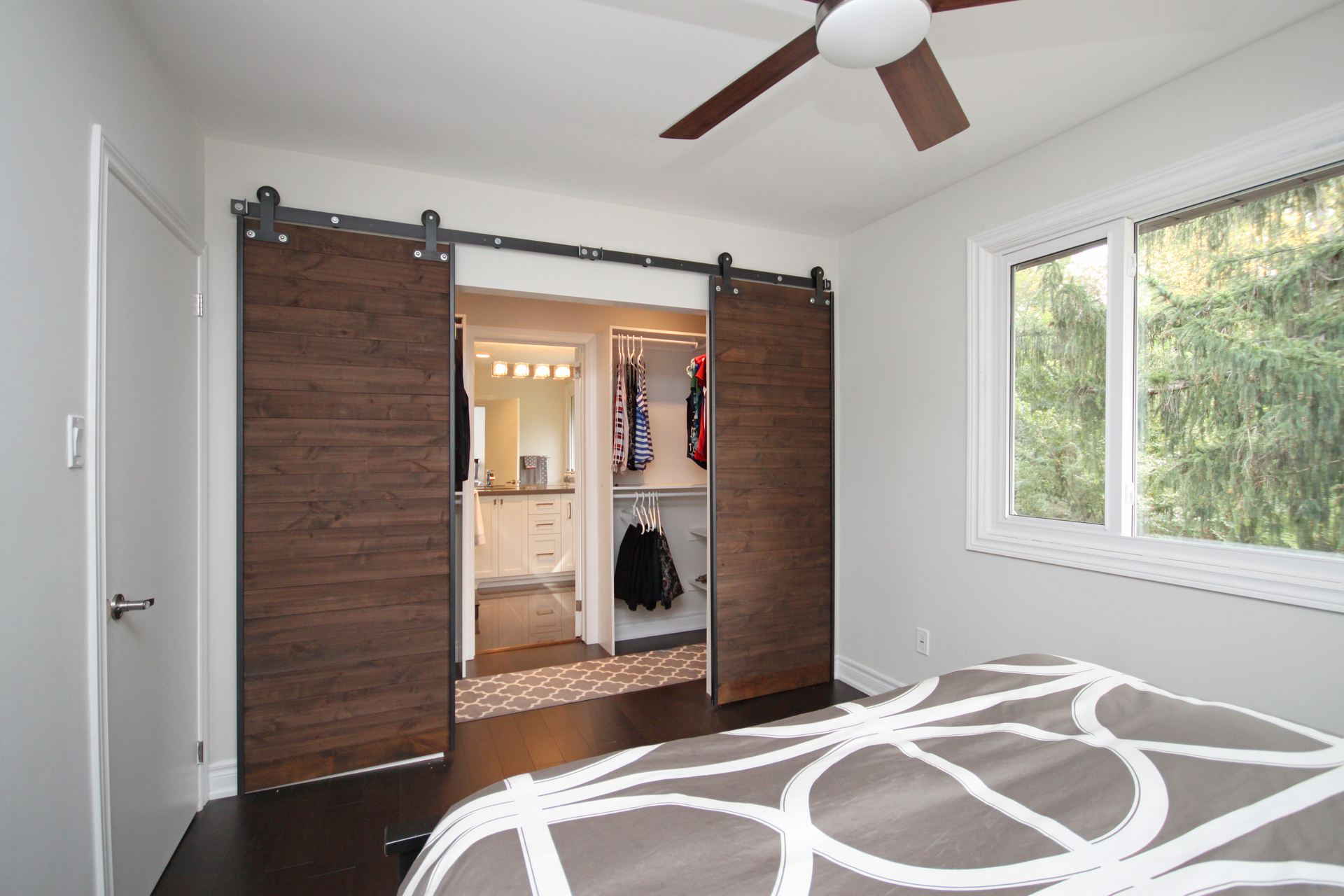 Master Bedroom at 165 Three Valleys Drive, Parkwoods-Donalda, Toronto