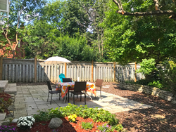 Backyard at 6 Stubbs Drive, St. Andrew-Windfields, Toronto