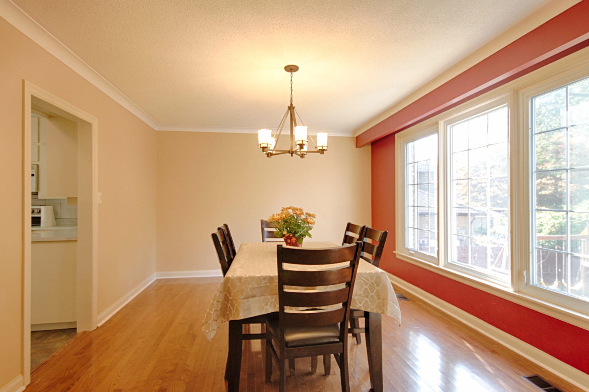 Dining Room at 166 Underhill Drive, Parkwoods-Donalda, Toronto