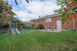 Backyard at 17 Royal Doulton Drive, Parkwoods-Donalda, Toronto