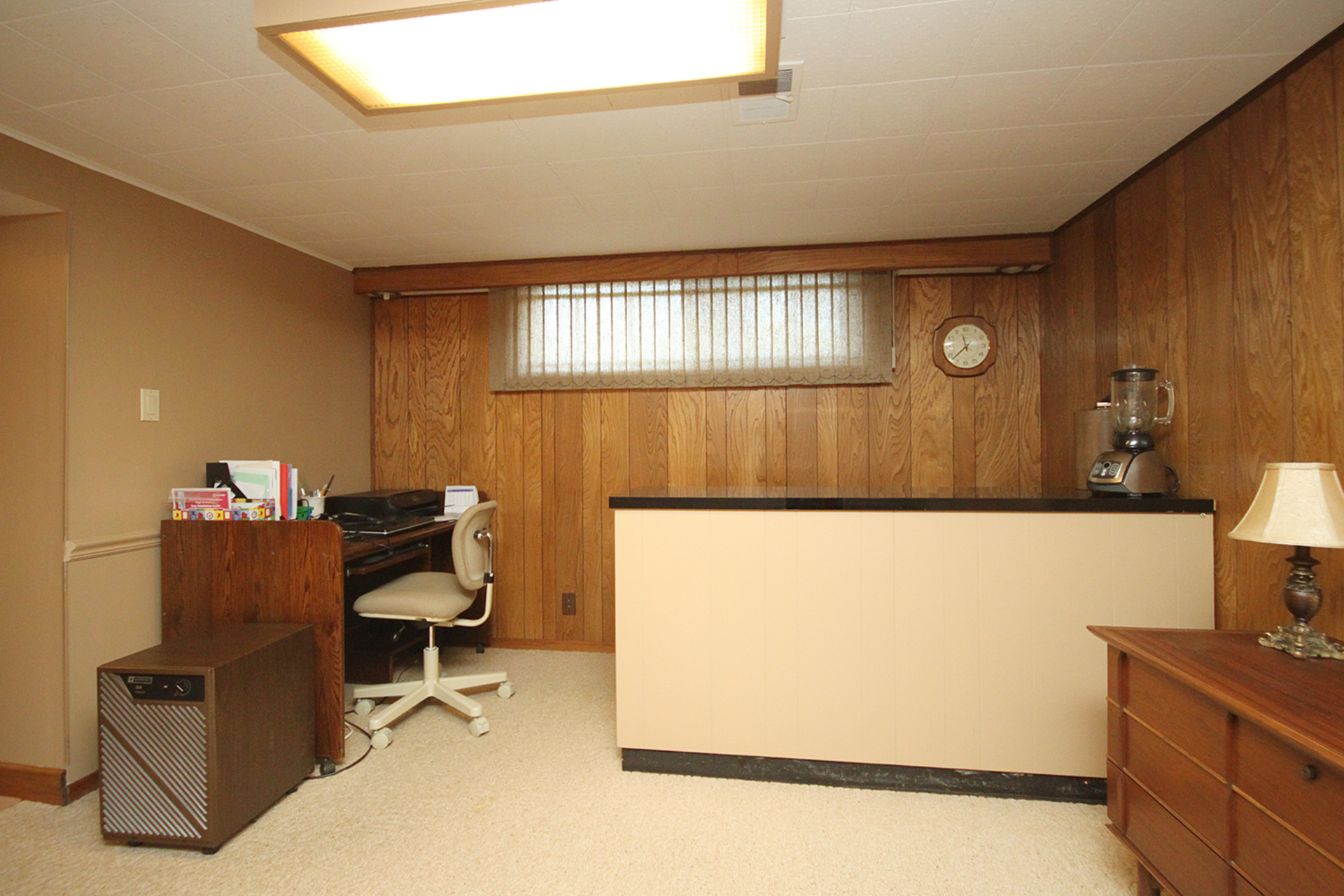 Recreation Room at 22 Kirkdale Crescent, Banbury-Don Mills, Toronto