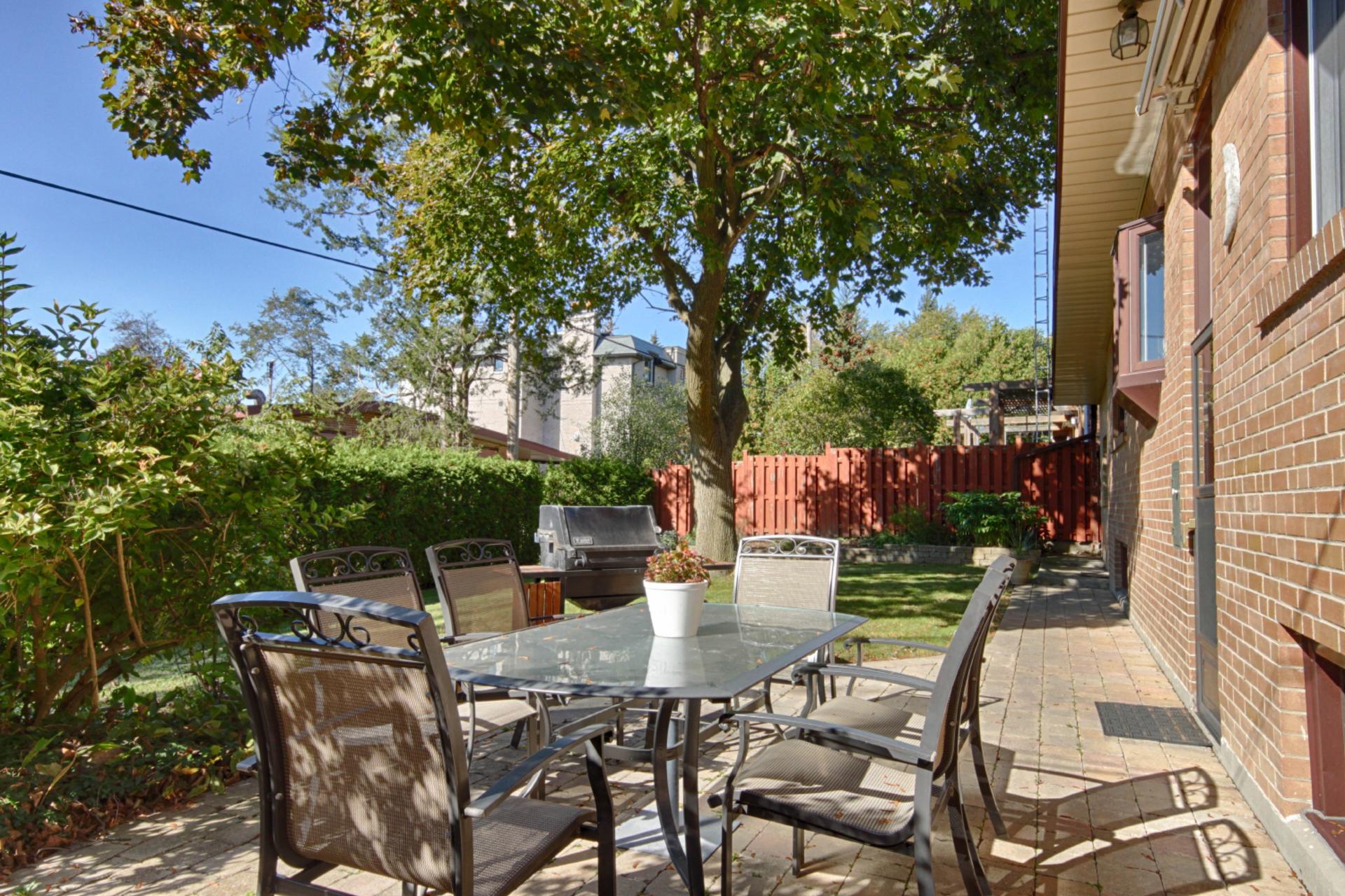 Backyard at 22 Kirkdale Crescent, Banbury-Don Mills, Toronto