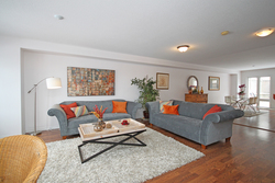 Living Room at 168 Dallimore Circle, Banbury-Don Mills, Toronto