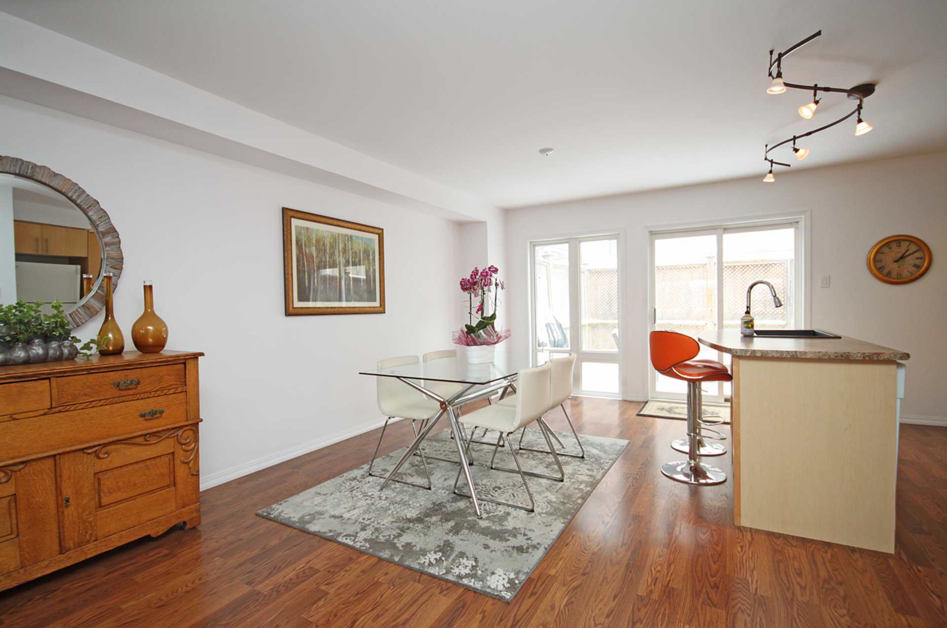 Dining Room at 168 Dallimore Circle, Banbury-Don Mills, Toronto