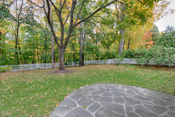 Backyard at 118 Cassandra Boulevard, Parkwoods-Donalda, Toronto