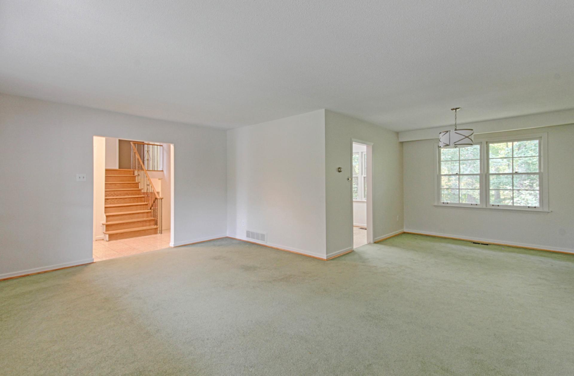 Living & Dining Room at 118 Cassandra Boulevard, Parkwoods-Donalda, Toronto