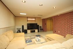 Recreation Room at 14 Gretman Crescent, Aileen-Willowbrook, Markham