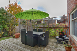 Backyard at 14 Gretman Crescent, Aileen-Willowbrook, Markham