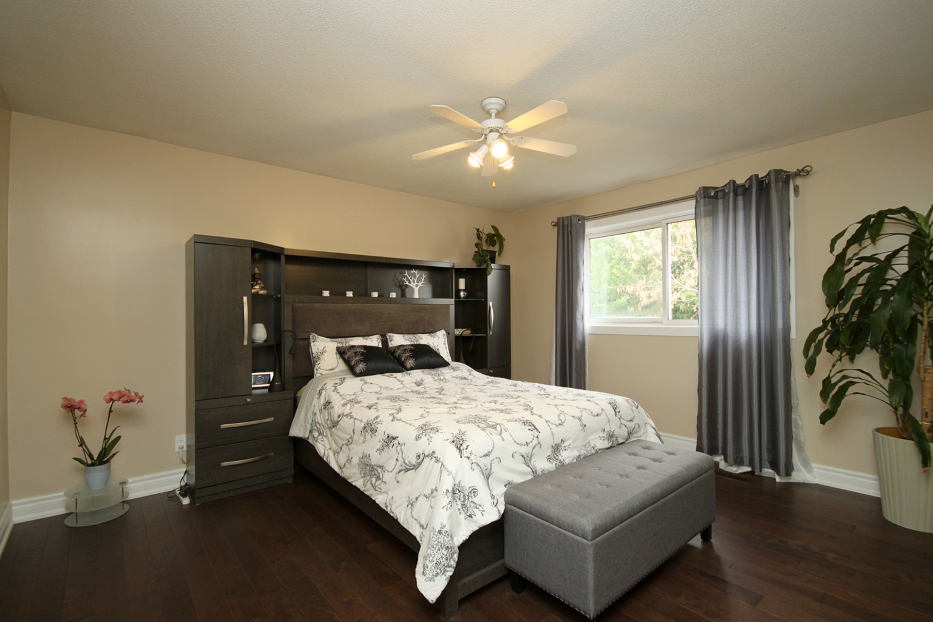 Master Bedroom at 14 Gretman Crescent, Aileen-Willowbrook, Markham