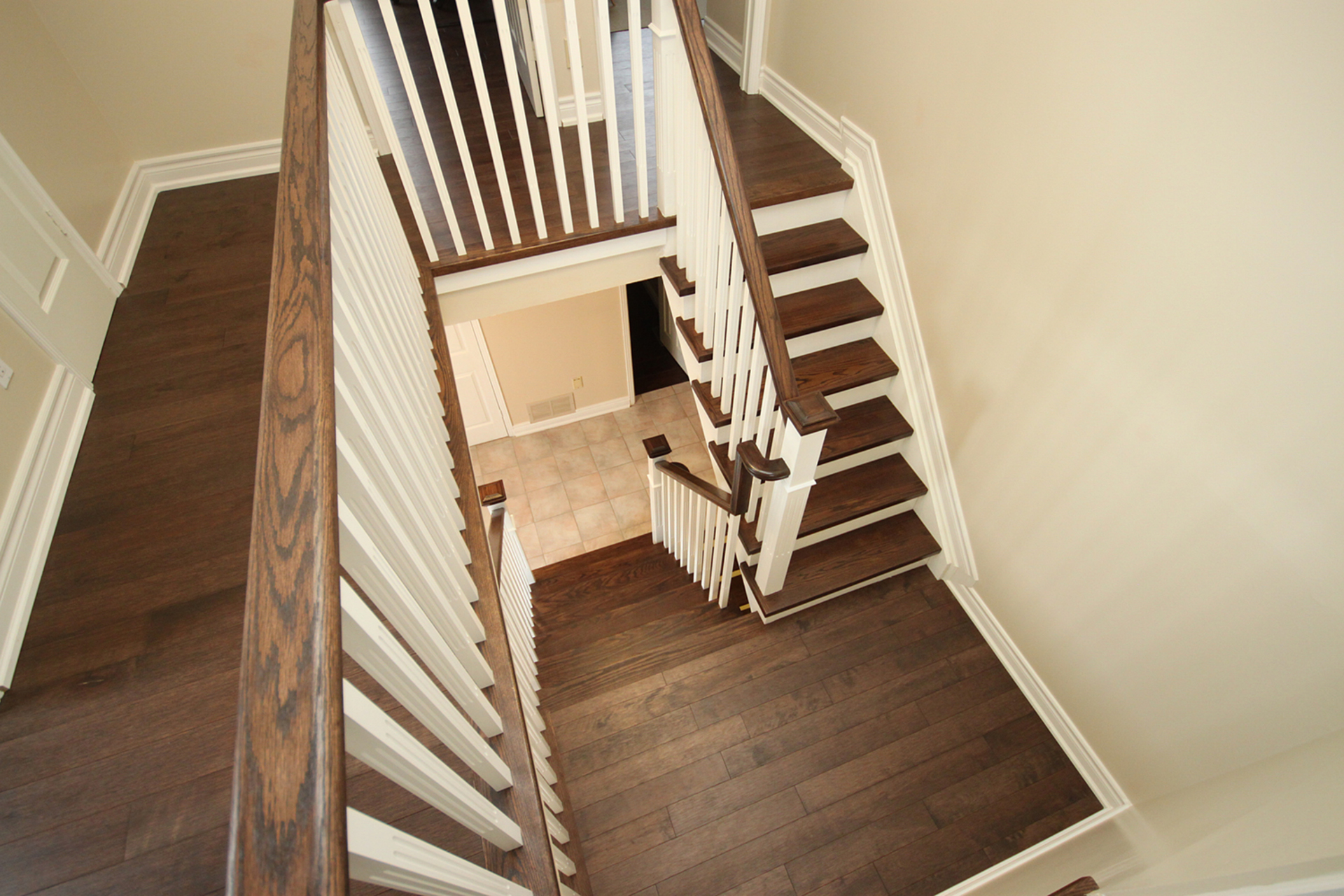Staircase at 14 Gretman Crescent, Aileen-Willowbrook, Markham