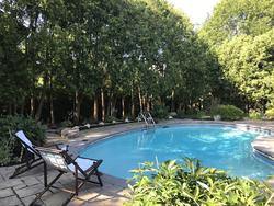 Backyard at 2 Barnwood Court, Parkwoods-Donalda, Toronto