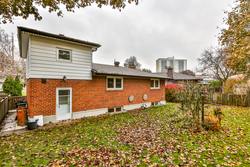 Backyard at 28 Dukinfield Crescent, Parkwoods-Donalda, Toronto