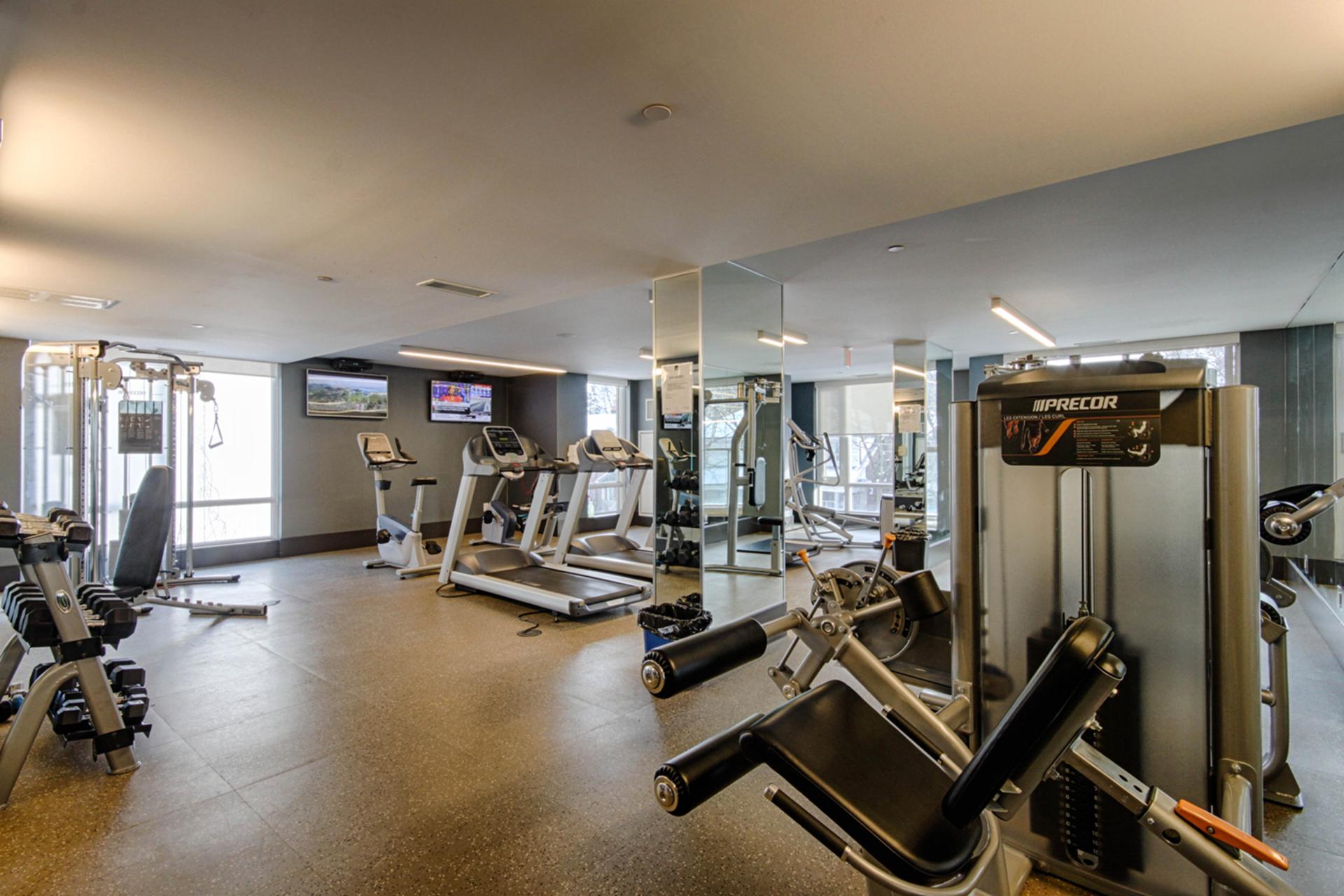 Exercise Room at 507 - 60 Berwick Avenue, Yonge-Eglinton, Toronto