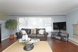 Living Room at 53 Dukinfield Crescent, Parkwoods-Donalda, Toronto