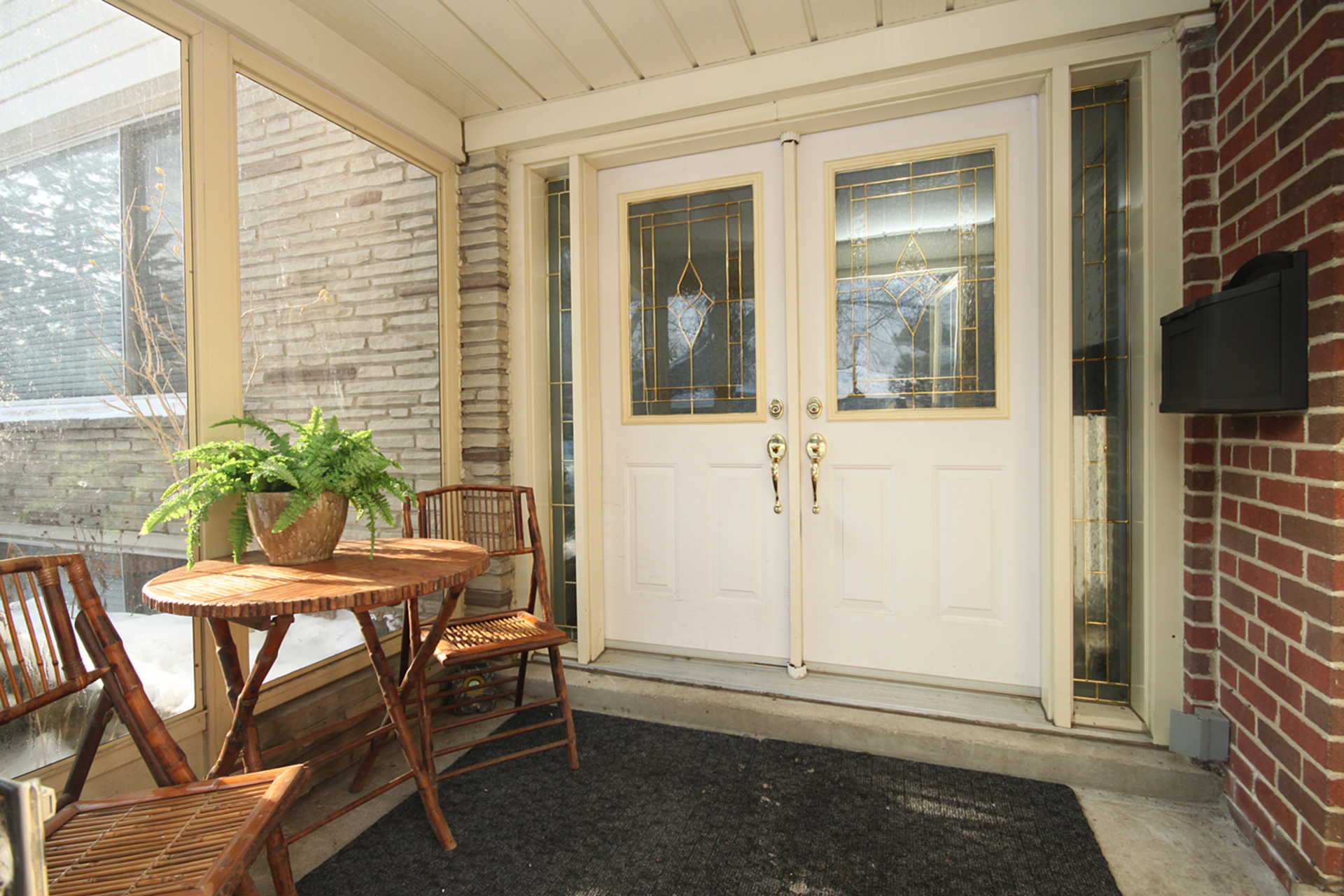 Porch at 53 Dukinfield Crescent, Parkwoods-Donalda, Toronto