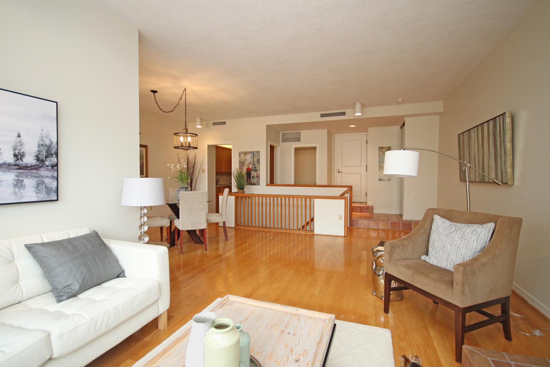 Living Room at 337 - 40 Oaklands Avenue, Yonge-St. Clair, Toronto