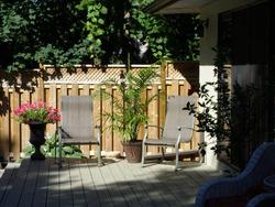 Backyard at 8 Parmbelle Crescent, Parkwoods-Donalda, Toronto