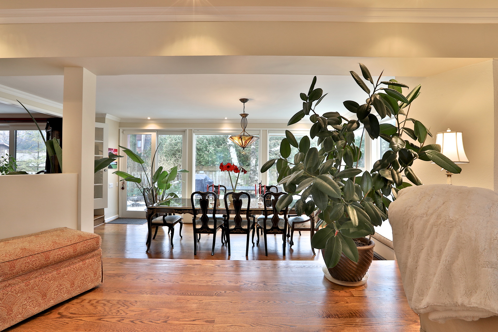 Dining Room at 8 Parmbelle Crescent, Parkwoods-Donalda, Toronto