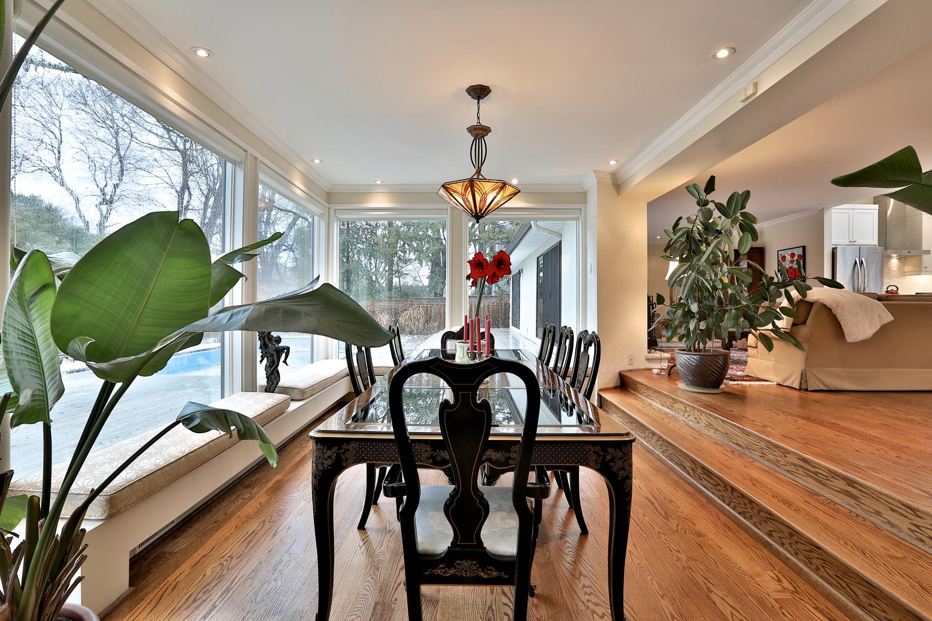 Dining Room at 8 Parmbelle Crescent, Parkwoods-Donalda, Toronto
