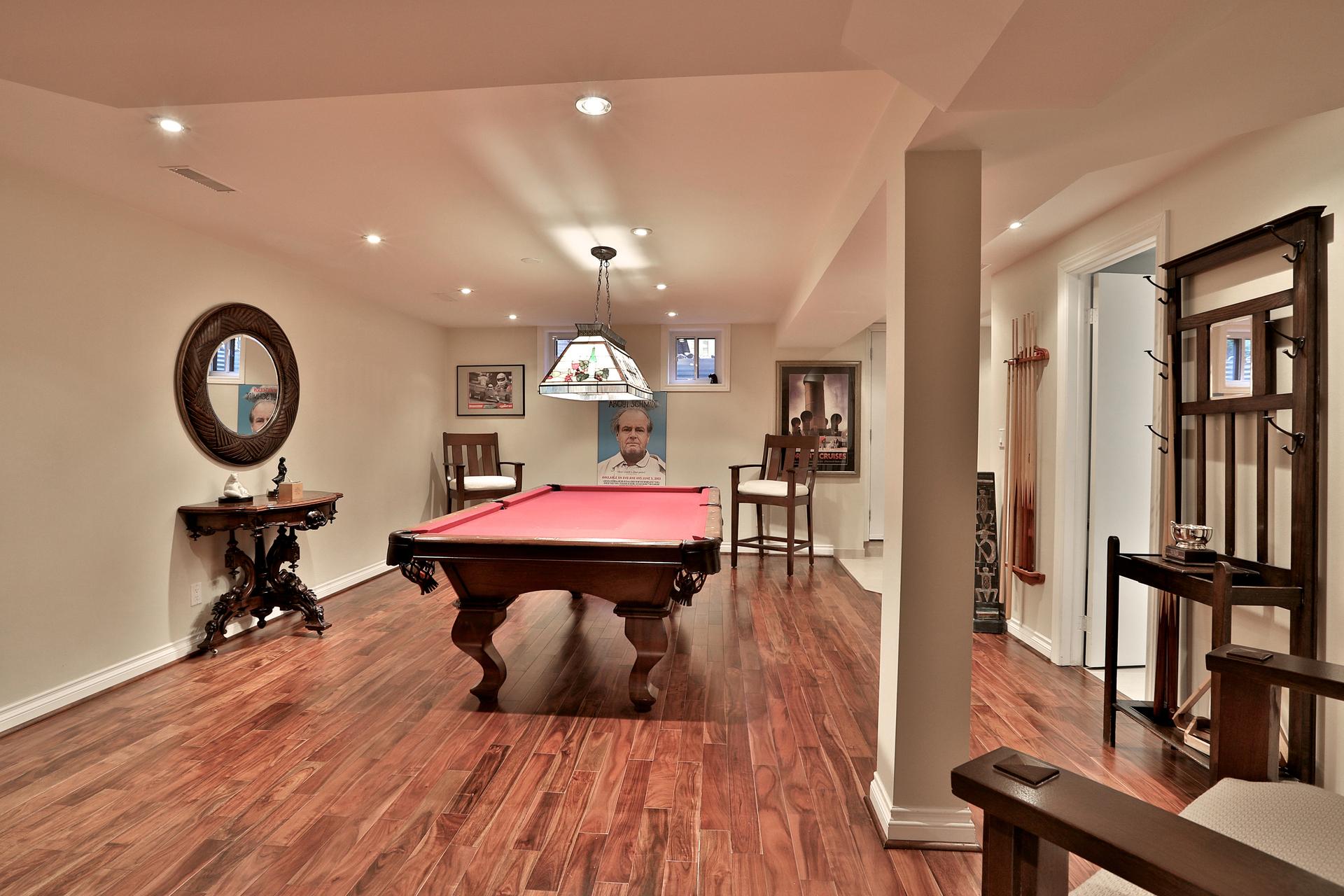 Games Room at 8 Parmbelle Crescent, Parkwoods-Donalda, Toronto